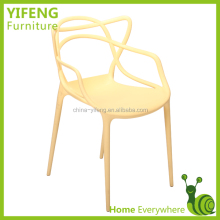 French Alibaba Optional Color All Pp Plastic Dining Chair