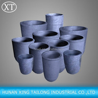 High Carbon Calcined Anthracite Coal Graphite Crucible for Melting Metal Crucible