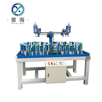 Hottest selling 48 spindle cotton rope braiding machine for sale