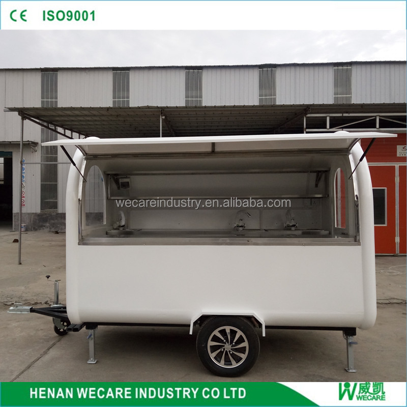 New design Mobile carnival food trailer for sale
