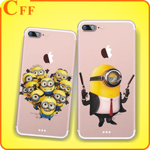 Christmas New Year Phone Case Cover For iPhone 7 7Plus 6 6s 5 5s SE Cases Luxury Transparent Soft Silicone Case Cheap