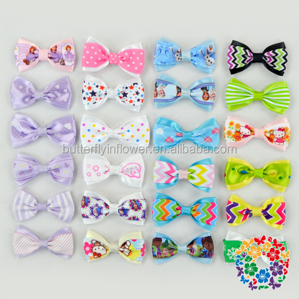 Star Hair Clip Decoration Butterfly With Clip ,Boutique Hairbows Bulk Hair Accessories Wholesale ,Boutique Hair Bows With Clips