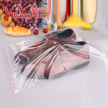 Best Selling Cute Color zip lock food plastic bags