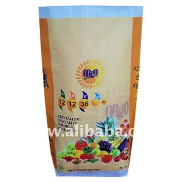 BOPP woven Fertilizer Bag