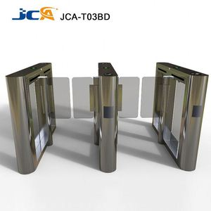 High speed swing turnstile security RFID swing barrier gate for handicap lane