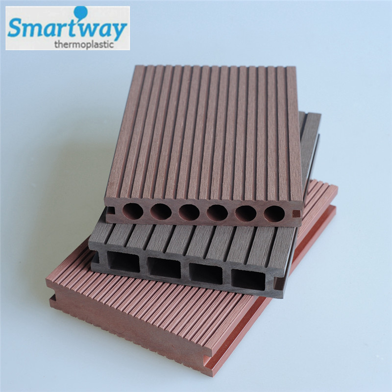 high quailty and low price engineering outdoor wpc decking floor