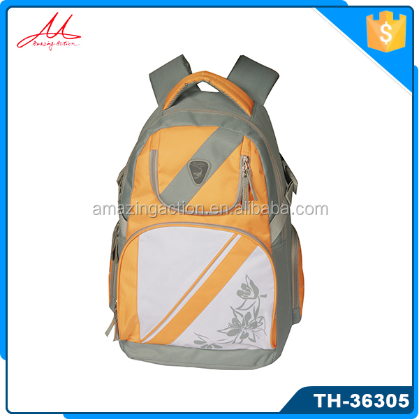 Factory directly cheap price many compartment outdoor leisure exercise backpack bag
