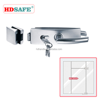Stainless Steel Locks With Glass Door SA8700A-1-2