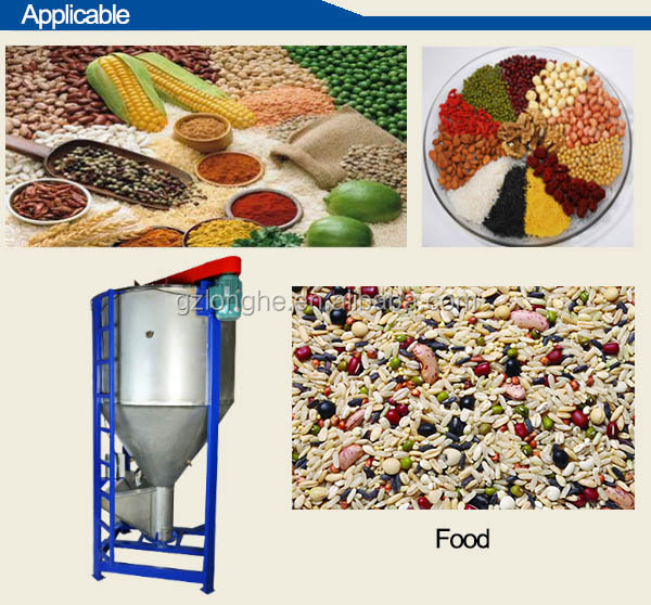 High effect Large capacity animal food mixing machine/feed mixing machine