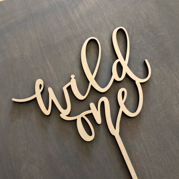 Popular wild one Cake Topper Wild One  birthday cake topper