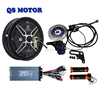 QS 10inch In-Wheel Hub Motor 48v 1000W V2 Electric Scooter Conversion Kits With 1000 Watt Speed Controller, Disc Brake, Throttle
