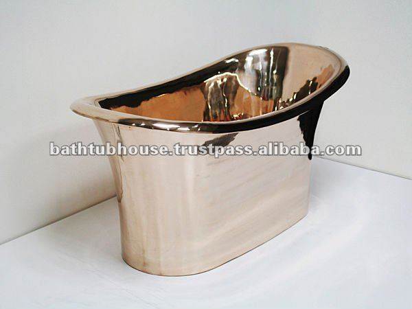 bronze bathtub