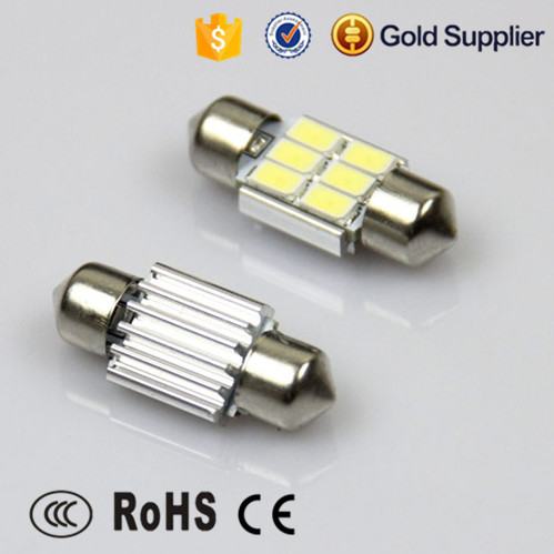 car led light heating panel 5630 6smd car led reading light fit in all car model
