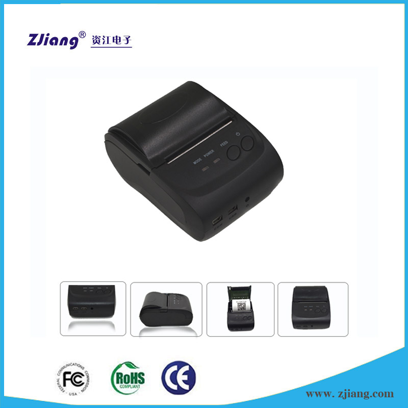 Food Bus Thermal Printer for Iphone Mobile/Samsung Galaxy S3 Mini Price Alibaba UK 58 Printers for Sale ZJ/POS-5802