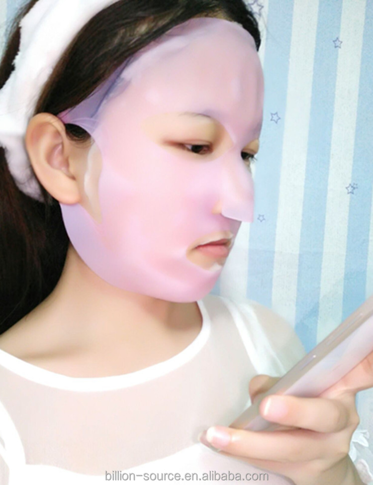 Skin care female silicone facial mask