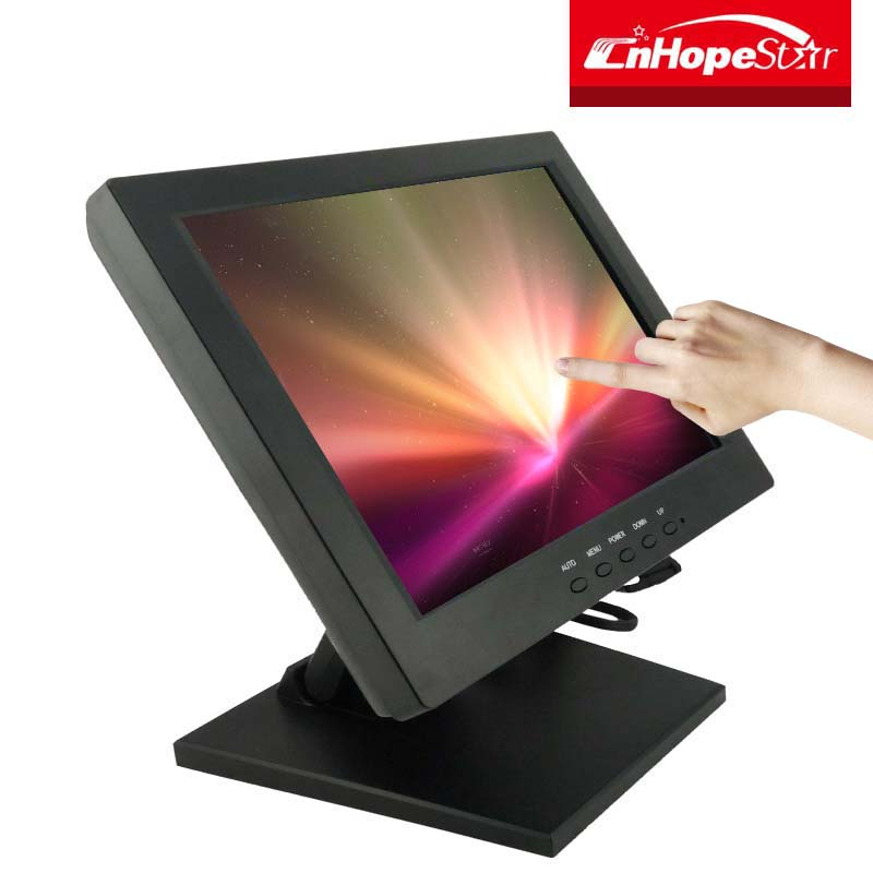 Best quality lcd 12 inch pos touch screen computer monitors