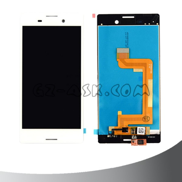 LCD For Sony for Xperia M4 Aqua lcd screen assembly E2303 E2333 E2353 lcd display touch screen digitizer White mobile phone