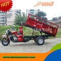 2014 KA250W-R with tipper water cooled 250cc Cargo Tricycle