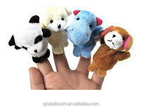 Animal Funny Toys Finger Puppet Plush Toys