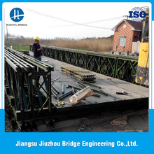 High quality 200-type QDR Q345B steel widely used steel bailey bridge