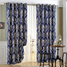 Luxury American Style Blackout Home Use Jacquard Curtain