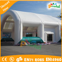High quality giant inflatable tube sport tent inflatable tennis court tent