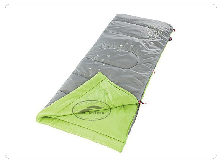 Customized High End 100% Cotton Flannel Thermal Rectangular Sleeping Bag