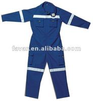 Petroleum Oil Field Coverall Industrial Oil Workers 100 Cotton FR Coverall