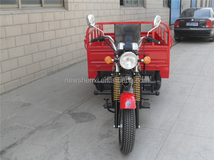 Motor Tricycle Vehicle 250CC EEC 3 Wheels Cargo Tricycle Single Cylinder Air Cooled 4 Stroke