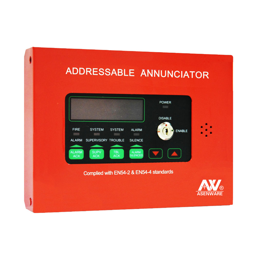 Modularized Design fire Alarm Host System Each Zone Fire Output