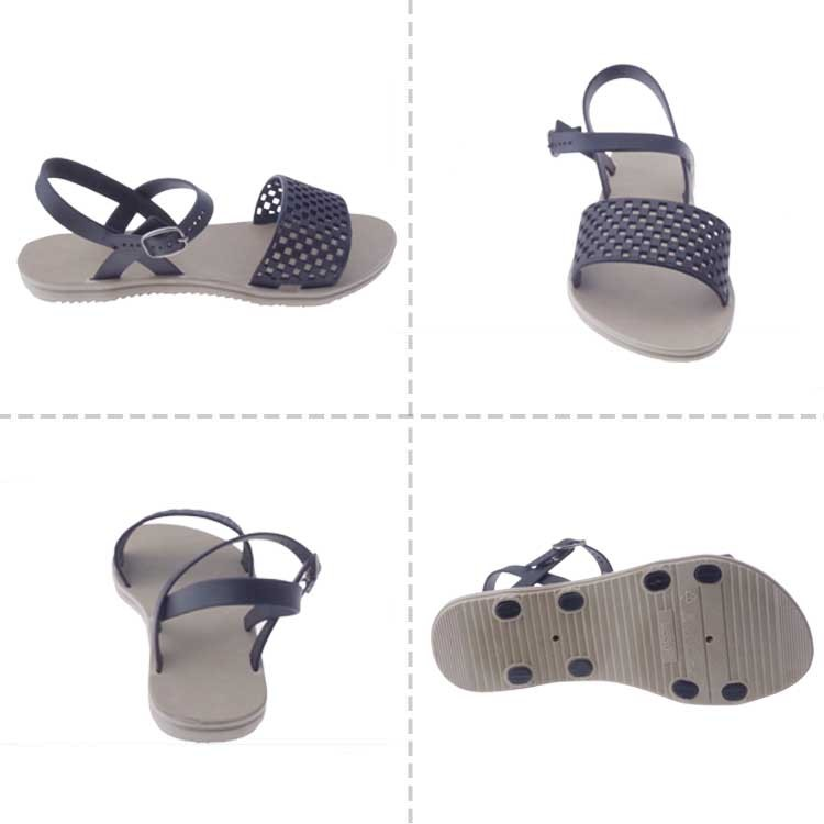 2017 latest fashion flat sandals for ladies pictures