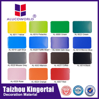 Alucoworld colorful marble design aluminum composite plastic panel drawing acp sheet