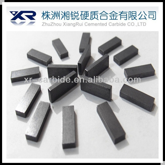 tungsten carbide rectangular tip/bar/strip