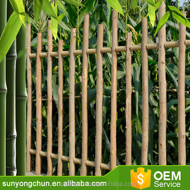 Sharp fence poles Wood Stake Farming tool Wood Stake Good quality round poles wooden fences with factory price Eucalyptus fence