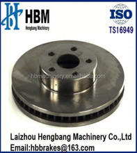China factory GG25 275mm customized brake disc check