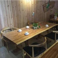 Modern design wooden dinner tables walnut dining room furniture walnut dining tables