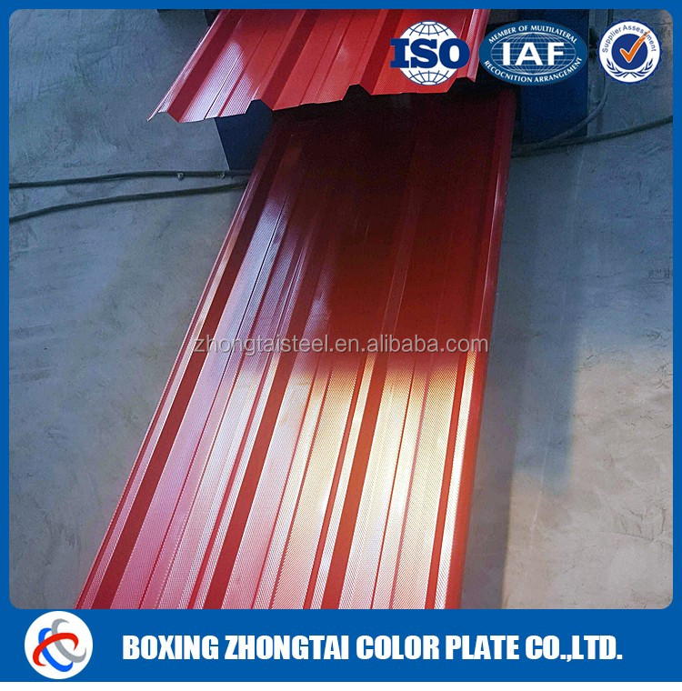 Construction use galvanized corrugated iron sheet for roof sheet