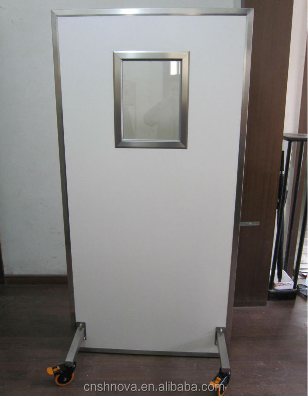excellent quality of medical CT Scan x-ray lead door