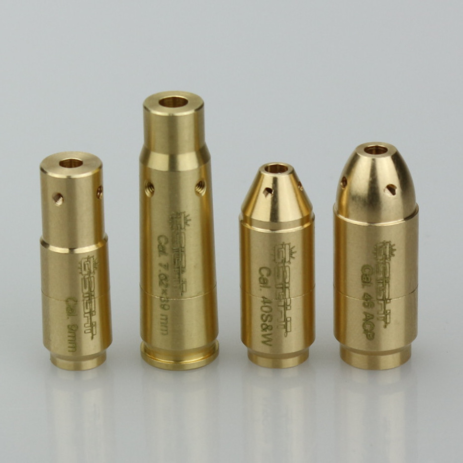 Full Brass Muzzle <strong>Laser</strong> Bore Sight with FDA For Shooting Calibration