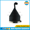 Rubber water treatment one way silicone valve