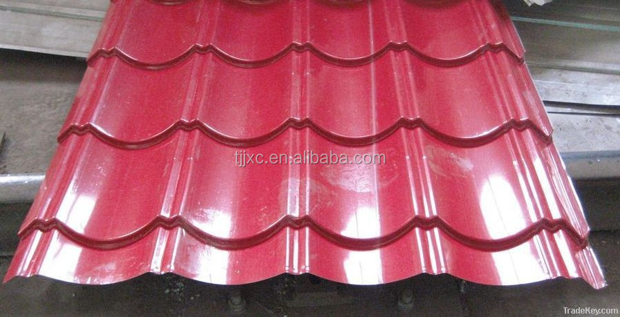 Corrugated aluminum roof panels / galvalume corrugated sheet / color coated corrugated panels for roofing 17
