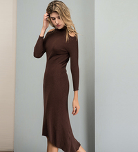women ladies latest casual fashion clothing elegant knit long maxi party dresses