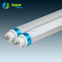 5 Years Warranty AC90-277V 15W 18W 120cm LED Tube Light 4 Feet with Various Kind Colorful Cap Ring