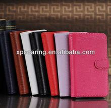 wallet card flip leather case cover for LG google nexus 4 E960