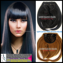 Wholesale Factory Price 100% Human Hair 2016 Best Selling weave with fringe