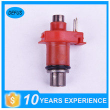 High quality red motorcycle fuel injector for 100~500cc/min original nozzle 6 holes flow 110cc/min fuel injector