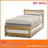 New design furniture bedroom double deck bed