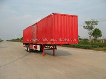 China manufacturer widely used heavy duty strong box trailers