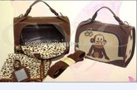 China Genuine Leather Special Design Nice Dog Carrier Purse