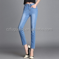 100% cotton denim fabric for woman jeans